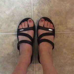 Crocs wedge sandal